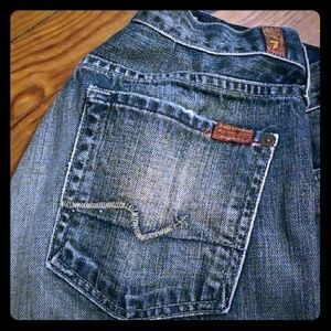 7 for all Mankind jeans, size 28